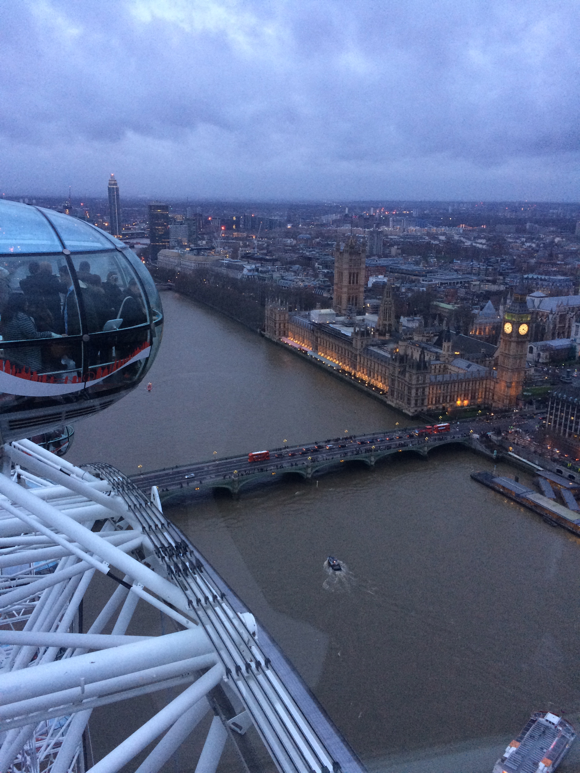 London Eye. Such a nice view!